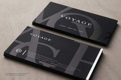 Hard Suede Business Card Design 10