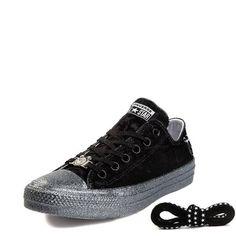 cfa81eba2b2 Alternate view of Womens Converse x Miley Cyrus Chuck Taylor All Star Lo  Velvet Sneaker Chuck