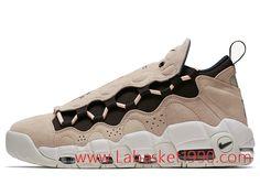 online store 56b13 1e068 Nike Air More Money QS AJ7383-800 Chaussures de BasketBall Pas Cher Pour  Homme Brun
