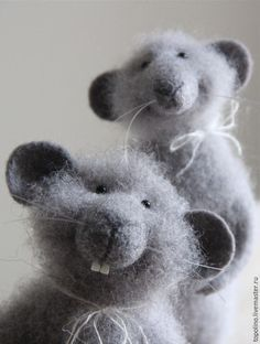 needle felted mouse tutorial - Google Search                                                                                                                                                      More