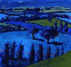 Powis, Paul : Blue landscape