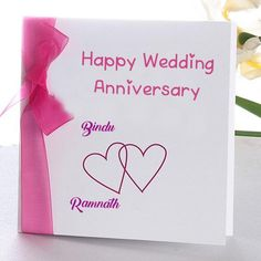 Online Wedding Anniversary Name Wish Card Edit Photo. Write Two Name Wedding Card Image. Wedding Wishes Couple Name Pictures Free. Beautiful Custom Name Anniversary Card With Names Marriage Anniversary Cards, Wedding Anniversary Greeting Cards, Happy Wedding Anniversary Wishes, Happy Anniversary Cakes, Wedding Wishes, Work Anniversary, Wedding Cards Images, Name Cards, Blog