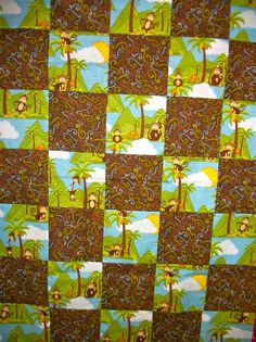 """How do I figure out how much fabric I need to make a typical baby quilt? - Quilters Club of America.  Baby Quilt--36"""" x 54"""" Afghan/Lap Size--54"""" x 72"""" Twin Quilt--54"""" x 90"""" Double Quilt--72"""" x 90"""" Queen Quilt--90"""" x 108"""" King Quilt--108"""" x 108"""""""