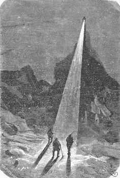 The Illustrated Jules Verne  Voyages et aventures du capitaine Hatteras - Le désert de glace (1864)  127 illustrations by Édouard Riou and Henri de Montaut