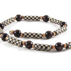 Fiber Necklace Textile Necklace Brown Necklace Brown by Fibernique