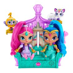 """Toys """"R"""" Us - Fisher-Price Shimmer and Shine Float & Sing Palace Friends"""