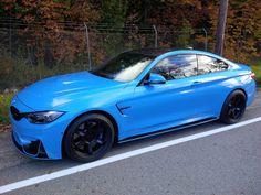 BMW M4 | BMW | M series | blue | sedan
