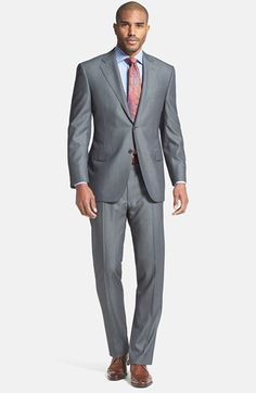 05fbb9e8d1 Canali Classic Fit Herringbone Suit available at  Nordstrom Herringbone  Suit