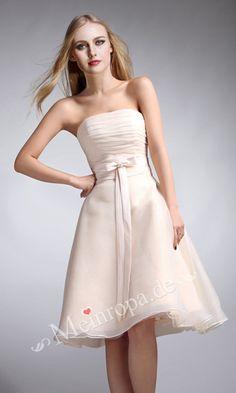 Cosage süß kurz Kleider fuer Hochzeit ASLY422