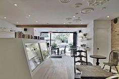 pastry boutique interior design france 600x400 Enchanting Interior Design for a Pastry Shop in Montreal