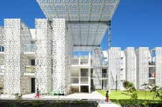 Completed in 2015 in Cap d'Agde, France. Images by Mathieu Ducros. Agde, an ancient town founded by the Greeks, is now renowned as a mass summer tourism destination on the Mediterranean coast. Its wide range of...