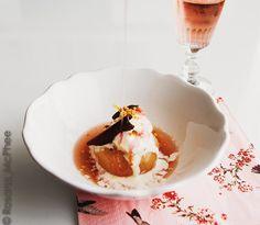 Hot & Chilli: White peaches in Rosé d'Anjou