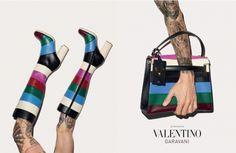 Os novos acessórios de Valentino