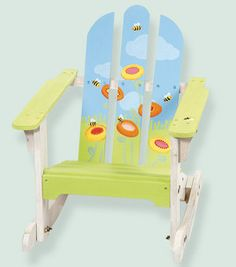 Child's Painted Honeybee Chair : garden & patio : home decor & fabrics :  Shop | Joann.com Online Craft Store, Craft Stores, Home Decor Fabric, Fabric Crafts, Kids Play Area, General Crafts, Garden Chairs, Joann Fabrics, Tole Painting