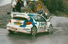 "amjayes: "" The best days. "" Didier Auriol - Dennis Giraudet - Toyota Corolla WRC Gilles Panizzi - Hervé Panizzi - Peugeot 206 WRC Tour de Corse 1999"