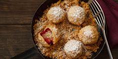 Fini's Feinstes - Fini's Feinste Ideen - Süsse Hauptmahlzeit - Zwetschkenknödel (Obstknödel) Sweets, Dessert, Ethnic Recipes, Food, Harvest Season, Fruit, Meal, Kochen, Food Food