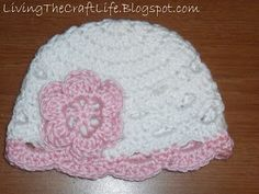 Living the Craft Life: Scalloped Beanie - Free Crochet Pattern