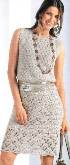 Lacy Crochet Dress Complete Pattern In English Crochet Clothes