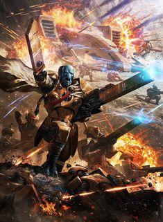 ArtStation - Fireblade KaisVre, Ameen Naksewee