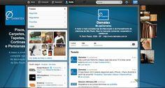 Twitter Damatex. Novo layout. (abril/2013) twitter.com/LojaDamatex