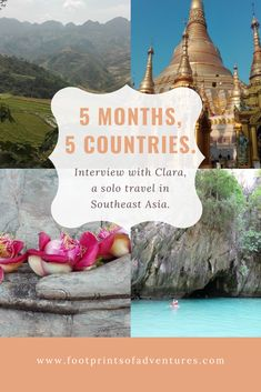 Solo Travel to Southeast Asia – Thailand, Laos, Myanmar, Vietnam, Cambodia Solo Travel, Southeast Asia, Cambodia, Laos, Travel Inspiration, Vietnam, Thailand, Adventure, Country