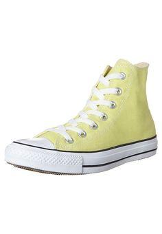 converse jaune clair