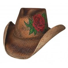 Bullhide Be Wild Collection -Love Story 2599 Womens Straw Cowboy Hat 0d7f05b2f4b9