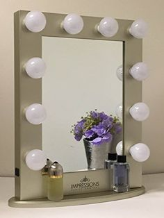 Hollywood Classic Vanity Mirror By Impressions Vanity Large (Gold)