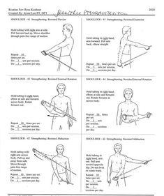 shoulder pain stretches Check the webpage to find out more. Frozen Shoulder Exercises, Shoulder Rehab Exercises, Shoulder Workout, Shoulder Training, Shoulder Exercises Physical Therapy, Rotator Cuff Exercises, Shoulder Arthritis, Shoulder Surgery, Shoulder Injuries