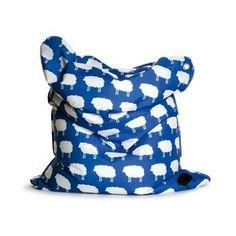 Sitting Bull Fashion Mini Bull Bean Bag in Happy Sheep
