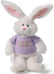 It wouldn't be Easter without a cute plush bunny!