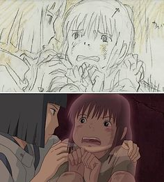 Film: Spirited Away ===== Storyboard Comparison ===== Scene: You Must Eat Something From Our World