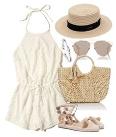 """""""Untitled #4179"""" by theeuropeancloset on Polyvore featuring Hollister Co., Christian Dior, Buji Baja, Nasty Gal and Blue Nile"""