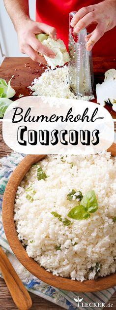 Tolle Alternative zu Couscous und Reis!