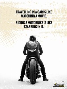 Motorcycle Quotes Never Trade Living Life For The Security Of Existing  Biker .