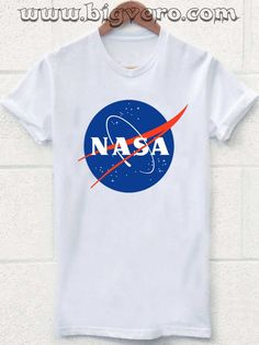 Nasa Logo T Shirt //Price: $17.00    #clothing #shirt #tshirt #tees #tee #graphictee #dtg #bigvero #OnSell #Trends #outfit #OutfitOutTheDay #OutfitDay