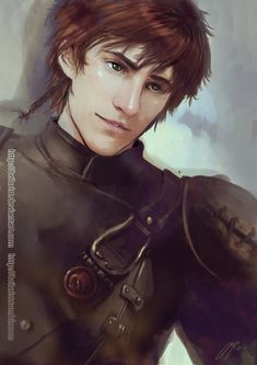 Hiccup by Brilcrist on deviantART  Umm... wow... @_@ Hiccup in this picture is everything Eragon is supposed to be... :)