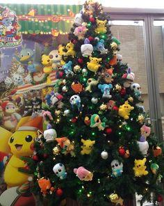 Árvore de Natal do Pokémon.