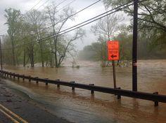 Pictures: Flooding Rappahannock roars through Fredericksburg