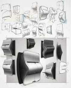 Design for Clothing Printer by Joshua Harris, via Behance. Id Design, Sketch Design, Design Concepts, Graphic Design, Sketch Inspiration, Design Inspiration, Id Digital, Store Window Displays, Retro Logos