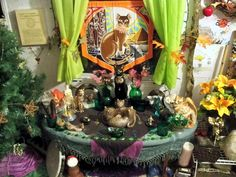 Altars: Bast Altar. - Pinned by The Mystic's Emporium on Etsy