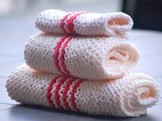 I think these would be perfect to use as wash/burp cloths for baby.