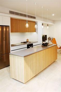 Sleek Concrete - Caesarstone Gallery   Kitchen & Bathroom Design Ideas Inspiration