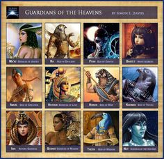 Egyptian Gods and Goddesses African Mythology, World Mythology, Egyptian Mythology, Mythology Books, Religion, Myths & Monsters, Dragons, Legends And Myths, Folklore