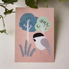 Postikortti, Lehtimetsä | Weecos