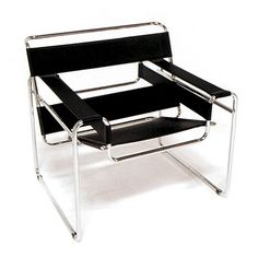Marcel Breuer The Wassily Chair.  Bauhaus formed and inspired.