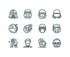 Small star wars tattoos