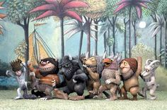 Where The Wild Things Are - Figures (2000)  Need for a shelf!  Baby's favorite book!  #Mom365