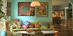 marrokaanse woonkamer kleuren et zuiderse kleur