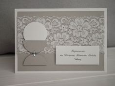Check out our invitations selection for the very best in unique or custom, handmade pieces from our shops. Anna Griffin Cards, First Holy Communion, Holi, Cardmaking, Wedding Invitations, Frame, Handmade, Inspiration, Scrapbooking